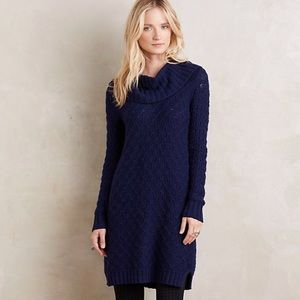Anthropologie Sparrow cowl neck sweater dress